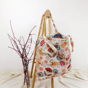 torba-gobelinowe-kwiaty-duża-jasna