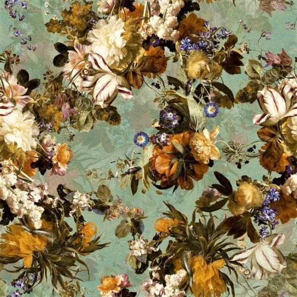 tkanina-kwiatowa-velluto-zielona