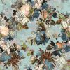 tkanina-kwiatowa-velluto-niebieska