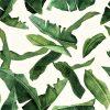 tkanina-liście-velluto-zielona